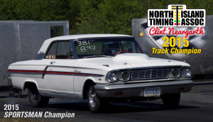 2015 Track Champion Clint Neargarth